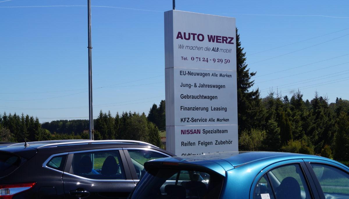 AUTO WERZ – Trochtelfingen